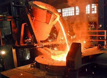indukcionnaja-plavka-metalla, элсит, индукционная плавка, индукционная печь, плавка металла