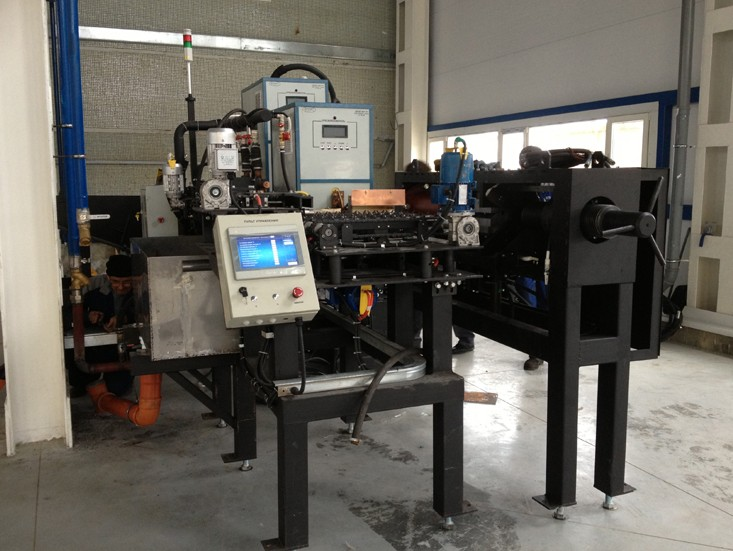 оборудование для закалки твч, закалка твч, закалочный комплекс, индукционная установка