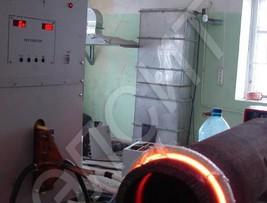 Установка для термообработки сварных швов, установка ТВЧ, установка индукционного нагрева, индукционный нагреватель
